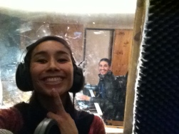 Blastermind and Anasma in studio