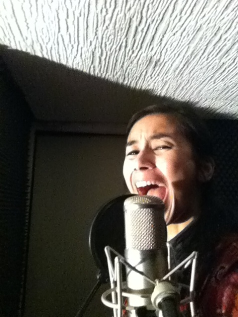 "Anasma recording ""Chance is Back"""